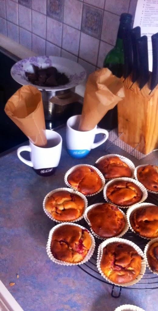 Muffins fruchtig