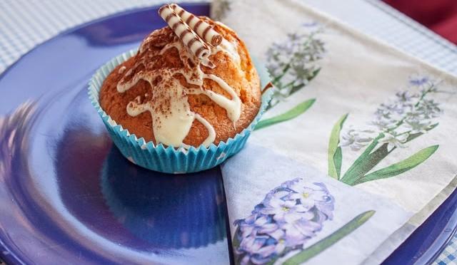 Stracciatella-Muffins