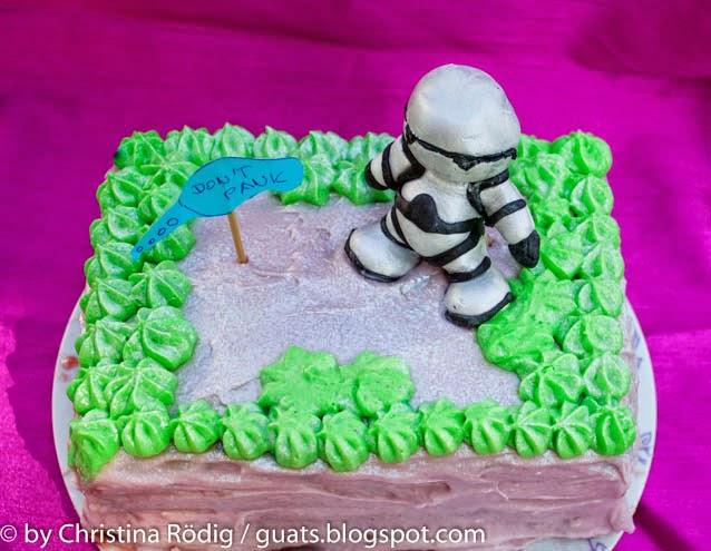Per Backofen durch die Galaxis Kuchen