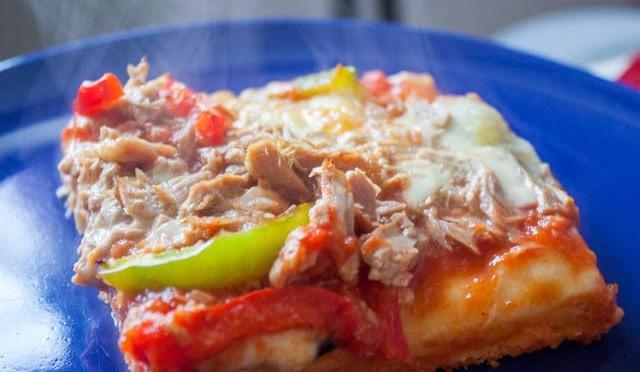Schnelle Pizza